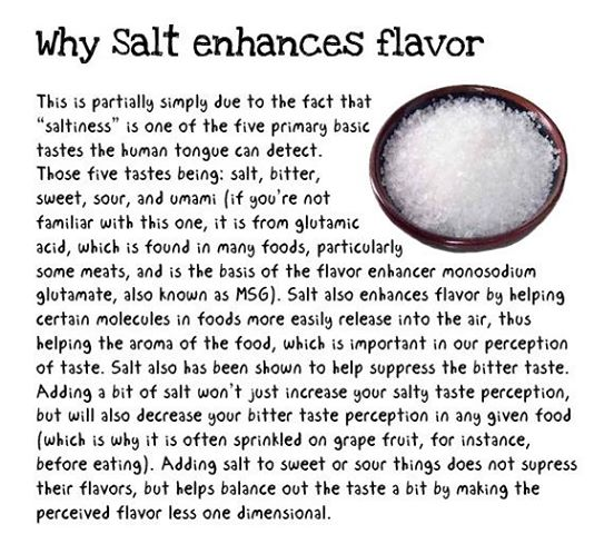 how does msg enhance the flavor